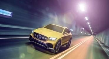 A Shangai il nuovo SUV di Mercedes-Benz, il Concept GLC Coupé