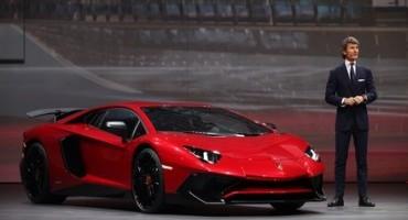 Lamborghini presenta al Salone di Shangai la nuova Aventador LP 750-4 Superveloce