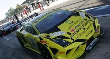 ACI Sport, Italiano GT: pronto a scendere in pista, nella GT Cup, l'equipaggio Valori-Cecchi (Lamborghini Gallardo del Team Eurotech Engineering)