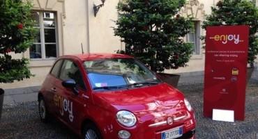 """""""Enjoy"""", il car sharing di Eni realizzato in partnership con Fiat e Trenitalia è a Torino"""