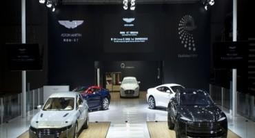 Salone di Shangai 2015, Aston Martin svela l'esclusiva Lagonda e il Concept DBX
