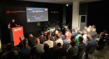 Aprilia V4 Days: a Misano Adriatico presentate le nuove RSV4 RF e RR e Tuono 1100 Factory e RR