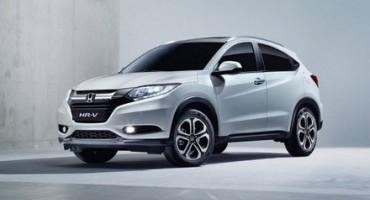 Nuovo Honda HR-V, si colloca tra le auto più efficienti della categoria