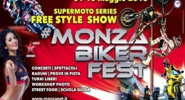 """Autodromo Nazionale Monza, grande attesa per il """"Monza Biker Fest"""" (1-10 Maggio)"""