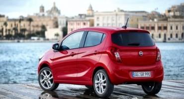 Opel Karl, al via le prevendite