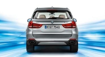 BMW X5 xDrive 40e, la prima ibrida plug-in di serie del Brand di Monaco