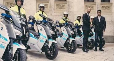 BMW Motorrad, la Polizia Locale di Cagliari utilizzerà 15 scooter full-elettrici C evolution