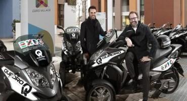 QUADRO, gli innovativi scooter a tre ruote saranno protagonisti a EXPO2015
