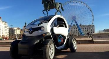 Car Sharing, la Twizy (Renault) è ora disponibile per gli abbonati al servizio Bluely a Lione