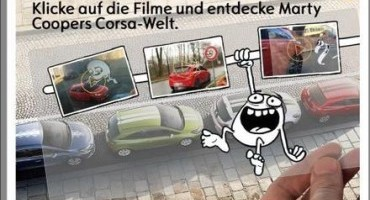 Il disegnatore del Web, Marty Cooper, ci racconta la nuova Opel Corsa