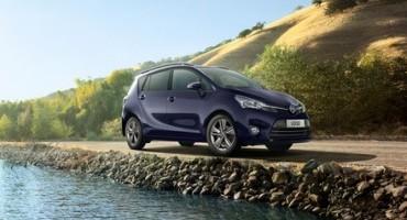 Nuova Toyota Verso con la rinnovata gamma di motori Euro 6