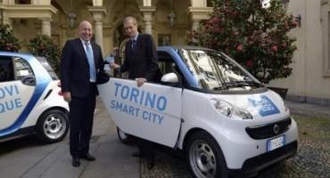 car2go entra ufficialmente in servizio a Torino, con le prime 100 smart