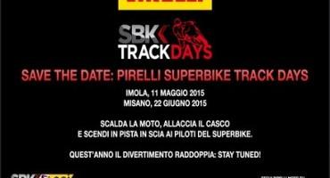 Pirelli SBK®TrackDays, per vivere un'esperienza unica con i campioni del Campionato Mondiale eni FIM Superbike