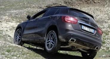 Mercedes-Benz, GLA festeggia il suo primo anno con la nuova versione Enduro