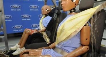 Lo studio di Ford sull'utilizzo delle cinture di sicurezza posteriori in Europa
