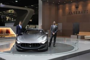 Maserati_Seoul Motor Show_Fabrizio Cazzoli - Market Responsible South Korea_TJ Lee - Executive Vice President & COO FMK Corp -