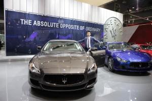 Maserati_Seoul Motor Show_actor Cha Seung Won - Maserati brand ambassador -