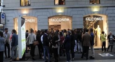 Falconeri apre un nuovo Store a Milano in Via Montenapoleone, angolo Via Manzoni