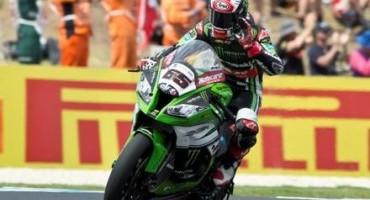 WSBK, Imola, Gara 1, settimo successo per Jonathan Rea (Kawasaki Racing Team)