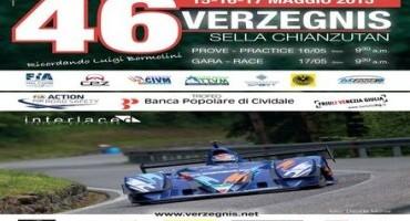 ACI Sport, Italiano velocità Montagna, record di iscritti alla 46^ Verzegnis-Sella Chianzutan, 257 piloti!