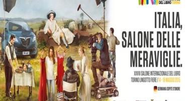 Lancia Ypsilon è sponsor del Salone Internazionale del Libro di Torino (14-18 Maggio Lingotto Fiere)