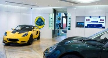 Lotus Brand Centre opens in Piccadilly, first Lotus Virtual Showroom
