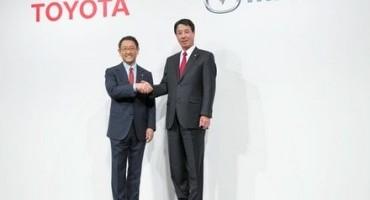 Toyota e Mazda fanno squadra per costruire auto migliori