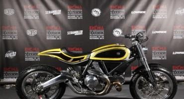 EICMA presenta lo Scrambler Ducati realizzato da Radikal Chopper