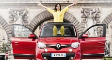 Nuova Renault Twingo Openair, l'estate è già arrivata
