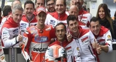 MotoGP, GP di Francia, Ducati Team in prima fila con Andrea Dovizioso che ottiene il secondo tempo