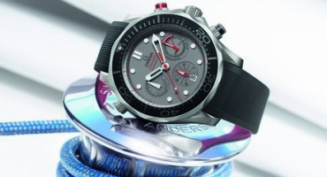 OMEGA introduces new Seamaster timepiece in anticipation of 35th America's Cup