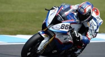 BMW Motorrad Italia SBK Team, risultati molto positivi per Ayrton Badovini a Donington Park