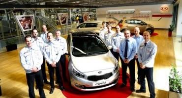 Kia cee'd, superato il traguardo del milione di unità prodotte dal 2006