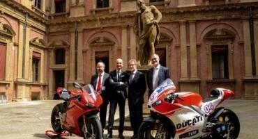 Alma Mater e Ducati, al lavoro insieme per un nuovo percorso in Ingegneria del Motoveicolo