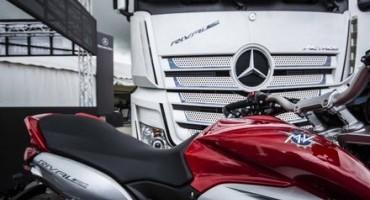 Presentato lo showtruck Mercedes-Benz Actros Rivale