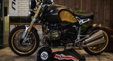 BMW Motorrad, il maestro tatuatore Marco Manzo veste la nuova R nineT
