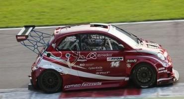 """ACI Sport, Italiano Turismo Endurance, a Monza qualifiche dominate dal """"Cinquone"""" Abarth 500 della Romeo Ferraris"""