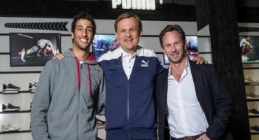 PUMA annuncia la partnership con il team Red Bull Racing F1