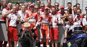 MotoGP, GP d'Italia TIM al Mugello, la soddisfazione del Team Ducati