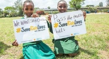 """""""Salviamo i bambini"""", le Nazioni Unite danno il via alla Settimana Mondiale della Sicurezza stradale"""