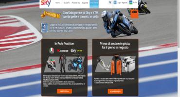 KTM e SKY: una promozione da pole position!