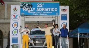 Al Suzuki Rally Trophy vittoria del trevigiano Alessandro Uliana