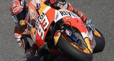 MotoGP, positive day for injured Marquez in Spanish sunshine