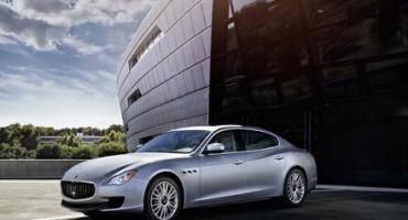 Maserati consolida le vendite ad Aprile. Per Eurotax, Ghibli e Quattroporte hanno il valore residuo più alto