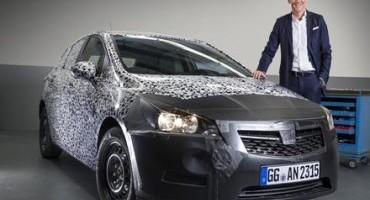 Opel Group: il CEO della Casa, Karl-Thomas Neumann, presenterà la nuova Astra al prossimo Salone di Francoforte (17-27 settembre 2015)