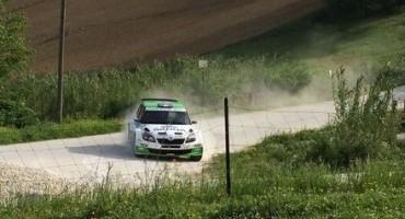 ACI Sport, Rally Adriatico, Scandola (Skoda Fabia S2000) al comando al termine delle tre prove