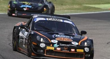 ACI Sport, Italiano GT, l'equipaggio del Solaris Motorsport (Sini-Costantini-Corvette Z06R) tenta il riscatto a Monza