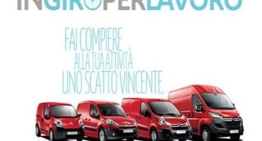 In giro per lavoro… e per vincere il nuovo Citroen Berlingo Van