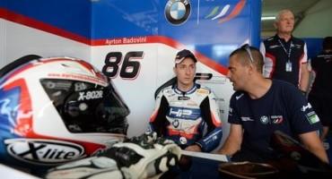 BMW Motorrad Italia SBK Team, buona la partenza di Badovini a Imola