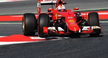 Formula1, Ferrari, GP di Spagna, Vettel terzo e Raikkonen quarto nel primo turno di libere